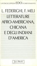 copertina Letterature afroamericana, chicana e degli indiani d'America