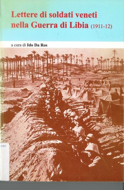 copertina Lettere di soldati veneti nella Guerra di Libia : (1911-12)