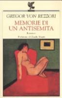 copertina Memorie di un antisemita