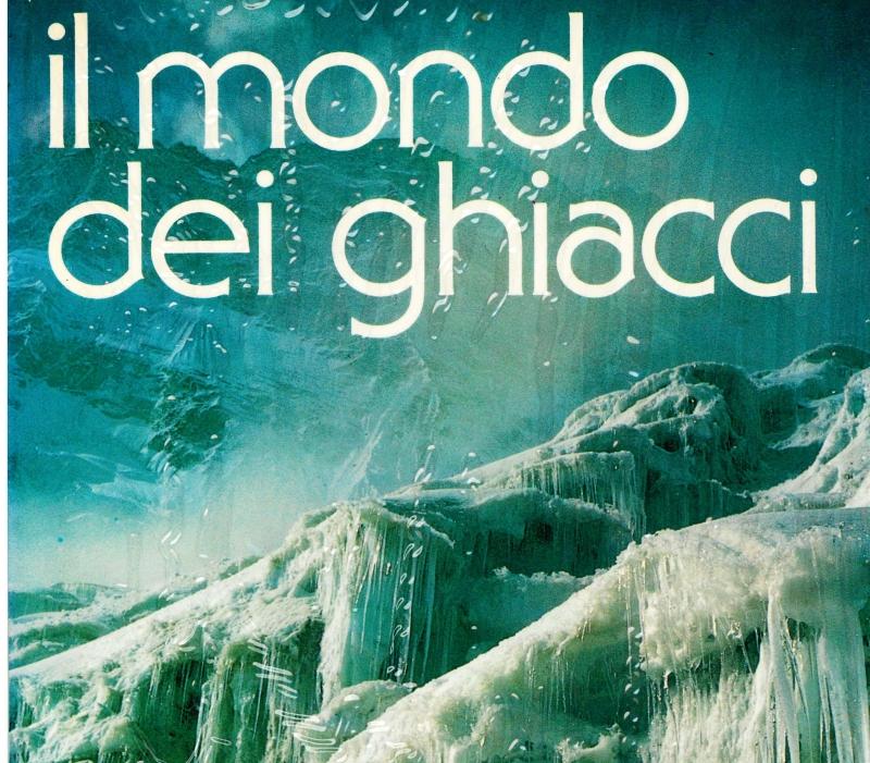 copertina Il mondo dei ghiacci