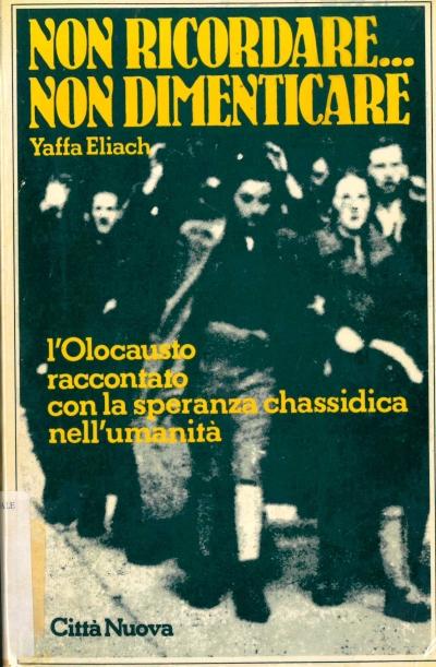 copertina Non ricordare... non dimenticare : l'Olocausto raccontato con la speranza chassidica nell'umanità