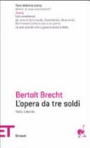 copertina L'opera da tre soldi = Die Dreigroschenoper