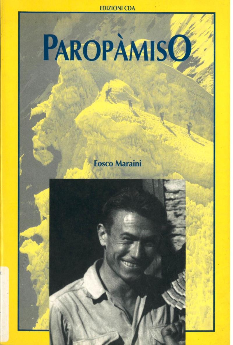 copertina Paropàmiso : spedizione romana all'Hindu-Kush ed ascensione del Picco Saraghrar (7350m)