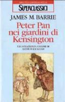 copertina Peter Pan nei giardini di Kensington